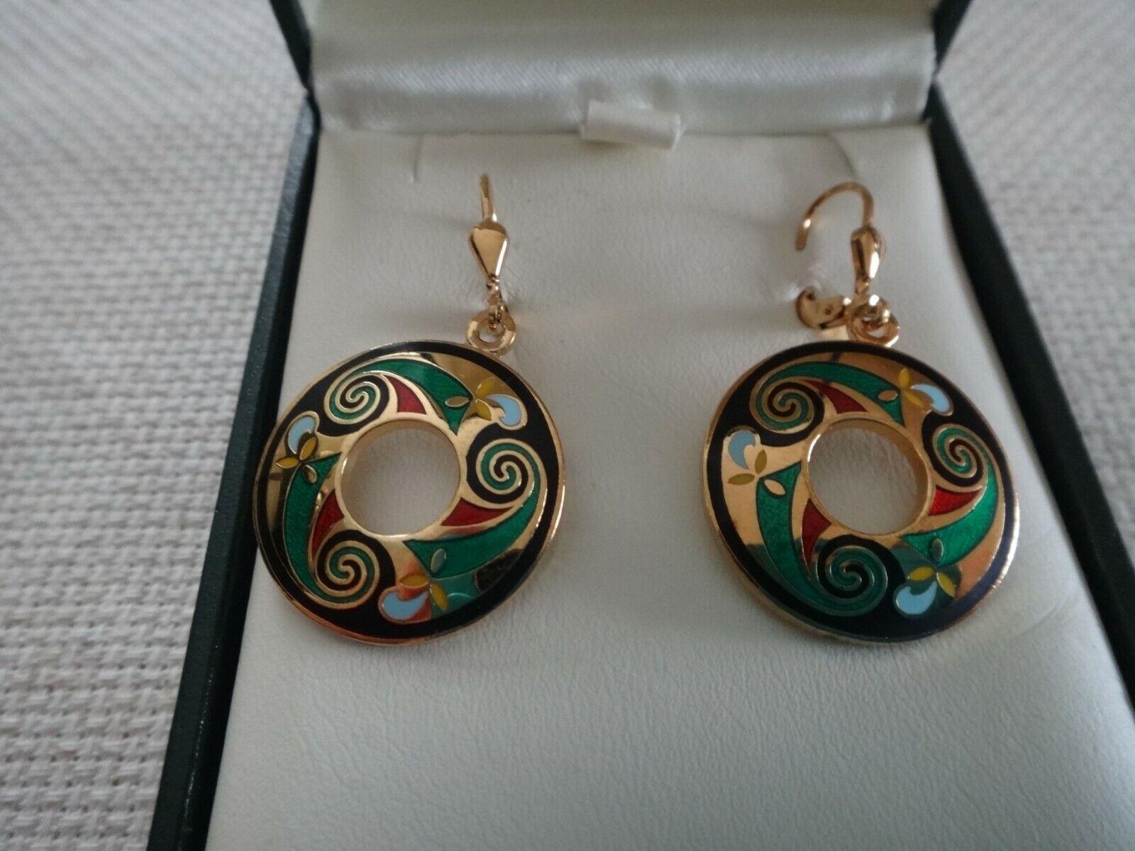 TARA, IRISH  JEWELRY  - BRAND NEW -  EARRINGS