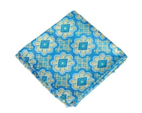 $75 Retail New Las Lajas Topaz Silk Lord R Colton Masterworks Pocket Square