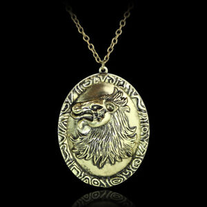 US-Game-of-Thrones-Necklace-Cersei-Lannister-Queen-of-Lion-Head-Badge-Pendant