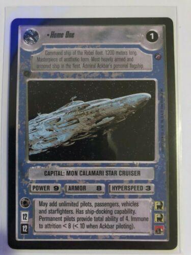 Star Wars CCG Home OneDeath Star IINM//MINT Bonus!