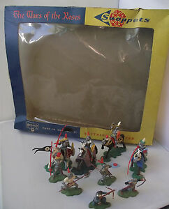 Britains-Herald-7480-Swoppets-Knights-Wars-Of-The-Roses-Boxed-Set-Rare