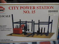 Model Power Ho Structure Kit - City Power Station No. 15 490-416