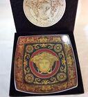 Vintage Rosenthal Versace MEDUSA Red Square 5