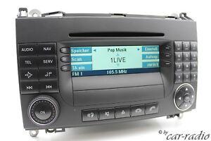 Original-Mercedes-Audio-50-APS-be6088-Becker-Mid-Headunit-w169-w245-w639-w906