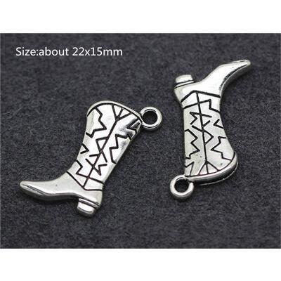 XMS Silver/Bronze Charm Christmas Tree/Snowman/Santa Claus Beads Pendant