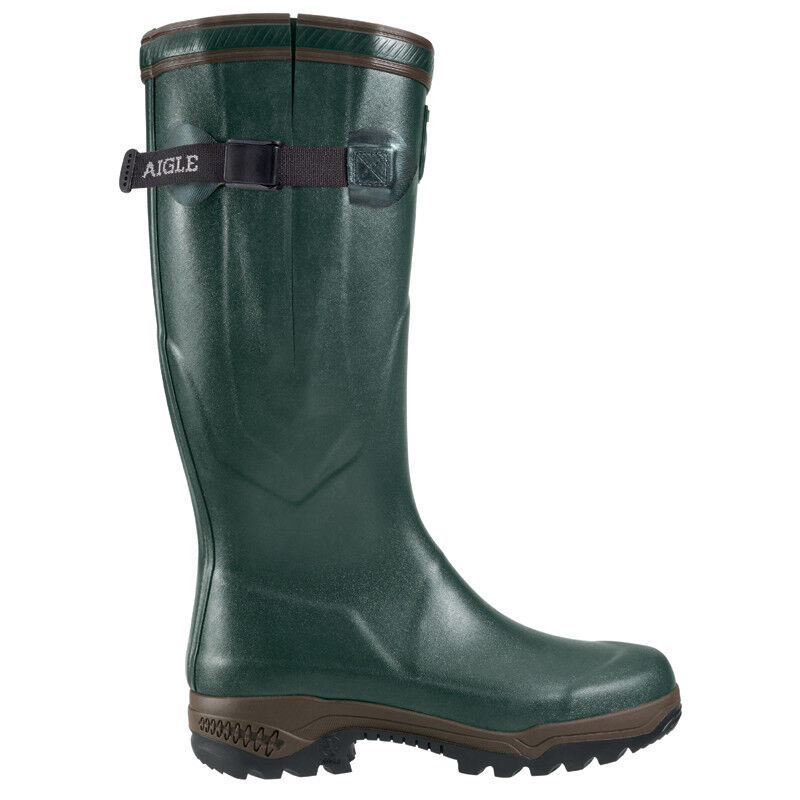 Aigle botas de goma recorrido 2 ISO en verde-tamaño 36 hasta 50, neoprenefutter