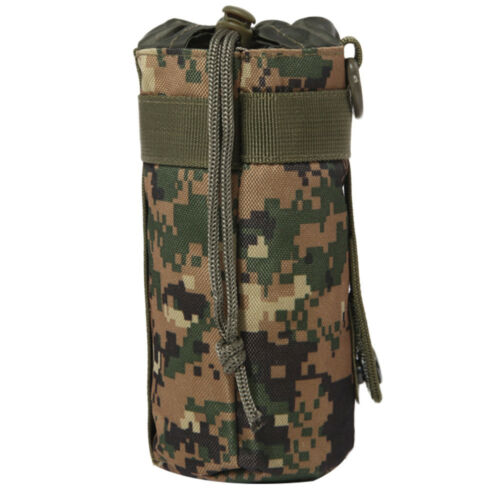 Outdoor Tactical Military Molle Water Bottle Bag Kettle Sleeve Pouch Holder Bag