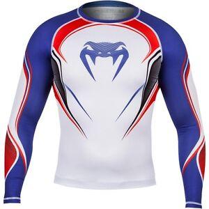 La imagen se está cargando Venum-Camiseta -Compresion-heroe-de-Reino-Unido-Mangas- 400c82e821c13
