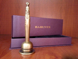 """""""Ani"""" handmade pen from bronze for gift or office decoration"""