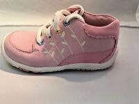 Striderite Girls Soft Pink Walking Shoes Infant Girls Size 6 1/2 Xw