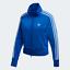 Adidas-Originals-Firebird-Track-Jacket-para-Mujer-con-estilo-puro-3-Rayas-Azul miniatura 1