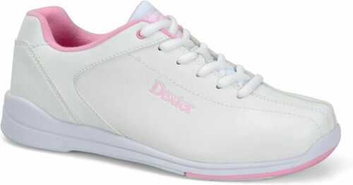 Dexter Raquel Women/'s Bowling Shoes White and Pink