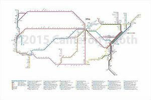 36-034-x-24-034-Amtrak-System-as-a-Subway-Map-Cameron-Booth-Art