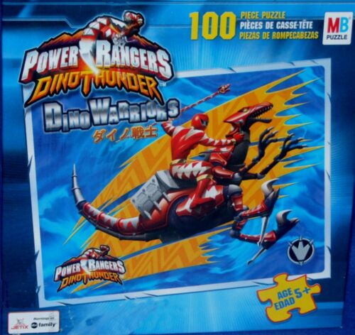 Power Rangers Dino Thunder Red Rapter Puzzle 2004 Factory Sealed 100 Pieces New