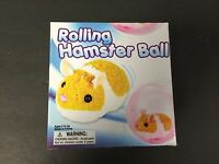 Hamster Rolling Ball Great Toy For Cats,dogs & Kids Includes Pink Ball