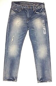 Outfitters Jeans d Nouveau Eagle 30 American Taper Taille 32 Original Eq5nz