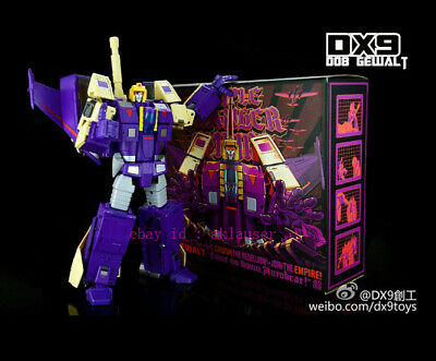 New Transformers DX9 toys D08 Gewalt Blitzwing Action Figure Toy MISB In Stock