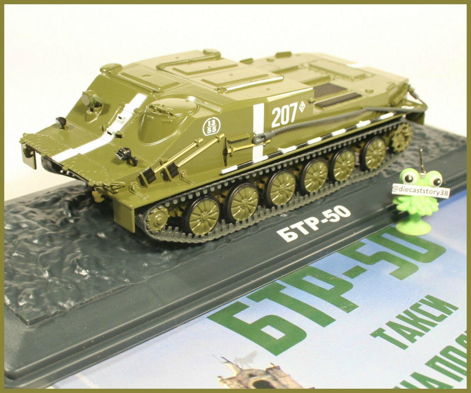 1 43 Panzerwagen BTR -50 rysk Modimo Magazin {rough 65533;65533; 12 CA USSR USSR DDR NVA tankar