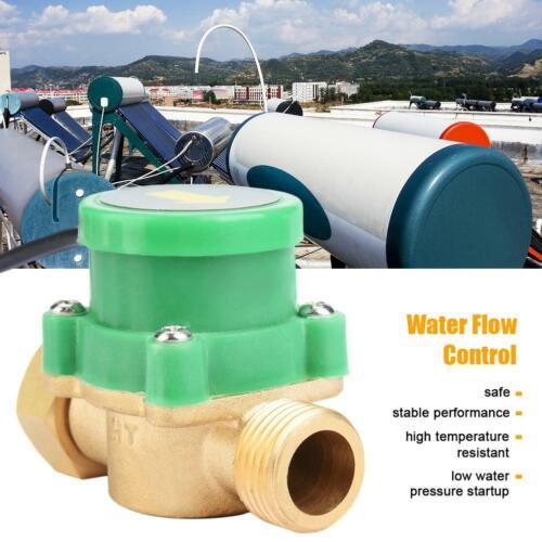 G1//2-G1//2 Thread Water Flow Switch Automatic Flow Switch Flow Sensor Switch 220V