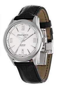 Orologio-Uomo-PHILIP-WATCH-SEAHORSE-R8251196002-Pelle-Nero-SWISS-MADE