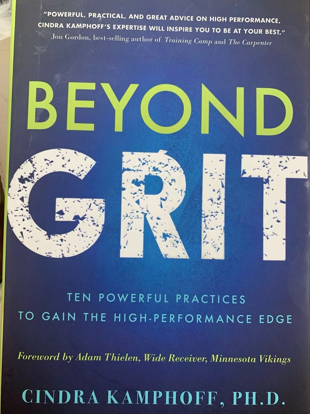 Beyond Grit By Cindra Kamphoff 2017 Hardcover For Sale Online Ebay