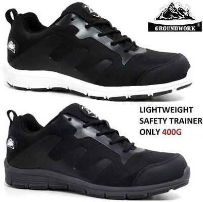 Mujer señoras Ultra Ligero Puntera De Acero Trabajo Botas Zapatos De Seguridad Zapatillas