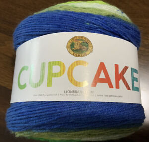 Lion-Brand-Yarn-Cupcake-Yarn-Pot-of-Gold-590-yds-Light-weight-3-Acrylic