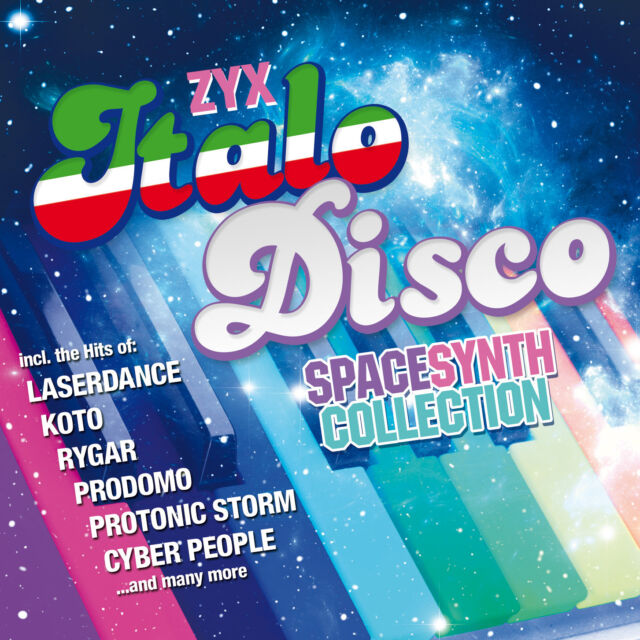 CD Zyx Italo Disco Spacesynth Collection by Various Artists 2CDs