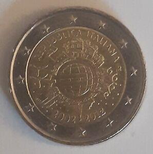 2 Euros Commémorative Italie 2012 10 Ans de l'Euros - CIR Qualite Sup