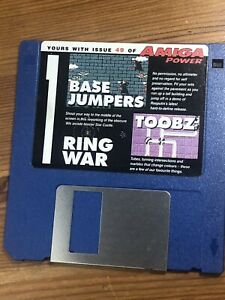 Amiga-Power-Magazine-cover-disk-49-Base-Jumpers-Ring-War-Toobz-TESTED-WORKING