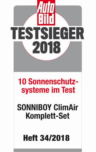 Scheibennetz ClimAir Sonniboy Sonnenschutz Skoda Karoq 2017
