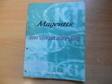 Werkstatthandbuch Schaltpläne Stromlaufpläne KIA Magentis Modelljahr 2001