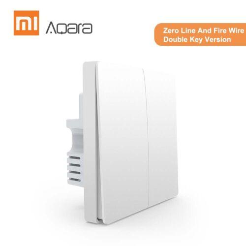 Aqara QBKG12LM Wall Switch Intelligent Home Switching Remote Control Home D8F5