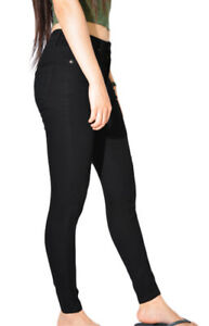 WAKEE-BLACK-HIGH-RISE-SKINNY-LEG-JEANS-SIZE-6-18