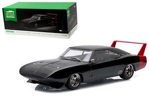 Greenlight Dodge Charger Daytona 1969 Noir 1/18