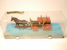 Einspänner Kutsche One-horse-drawn coach carriage, Brumm Historical 1:43 boxed!