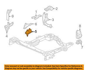 gm oem engine motor mount torque strut 10448575 ebay rh ebay com