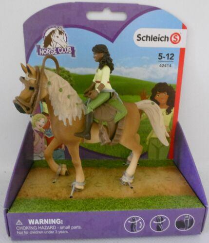 **NEU** Schleich 42414 Horse Club Mädchen Sarah Pferd Mystery **OVP**
