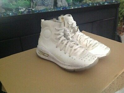 Under Armour Curry 4 White/Met Gold