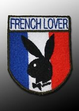 "écusson patch France ""french lover"""