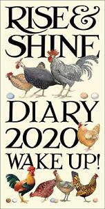 Emma-Bridgewater-Rise-amp-Shine-Chickens-Slim-Official-2020-Diary