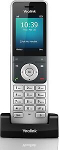 NEW! Yealink YEA-W56H - HD DECT Handset for Cordless VoIP Phone and Device READ