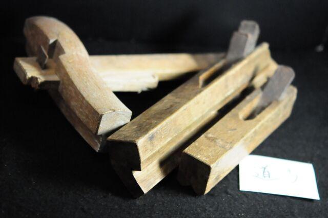 Vintage Woodworking Carpentry Tools Plane Kanna Blade   Japanese SET OF 3 #道5