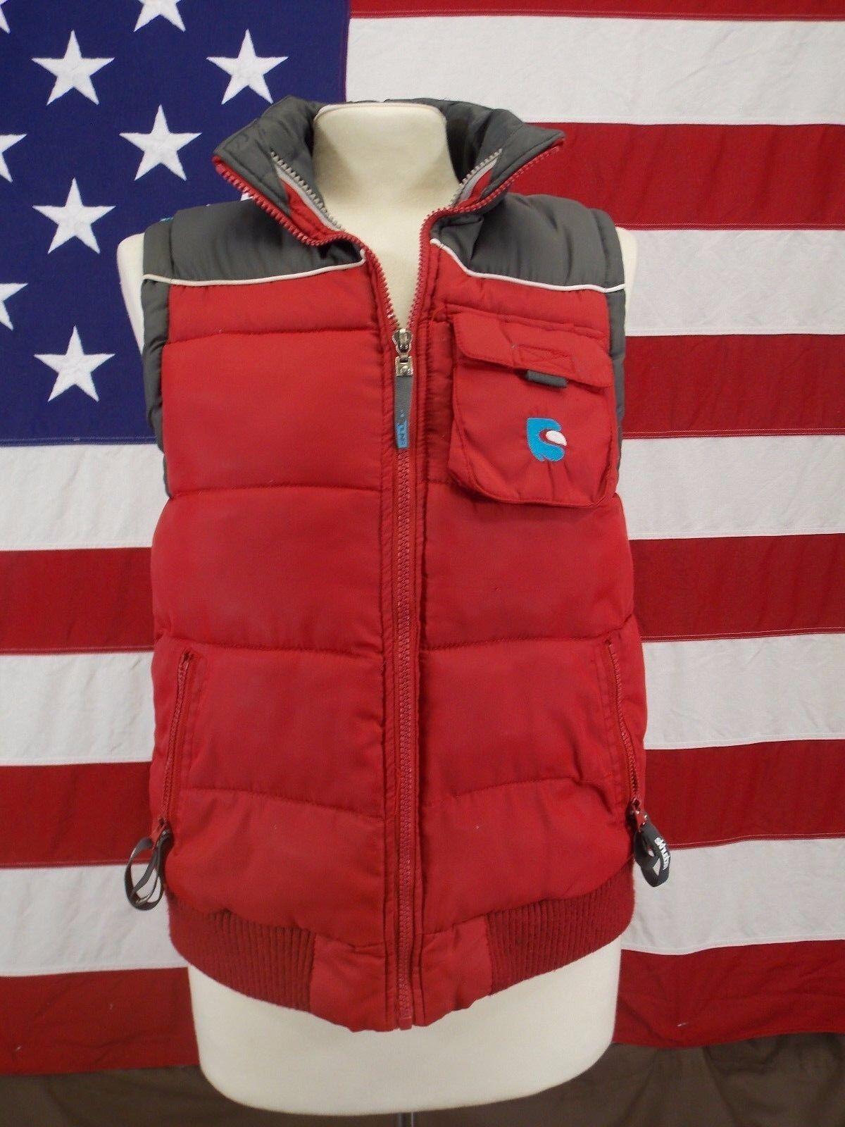 Skhuaban Weste Puffer Sleeveless Jacket Oberbekleidung Winter Kids Größe 10-12