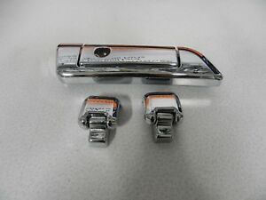Harley-Davidson-Touring-14-amp-Later-Chrome-Tour-Pac-Latch-And-Hinges