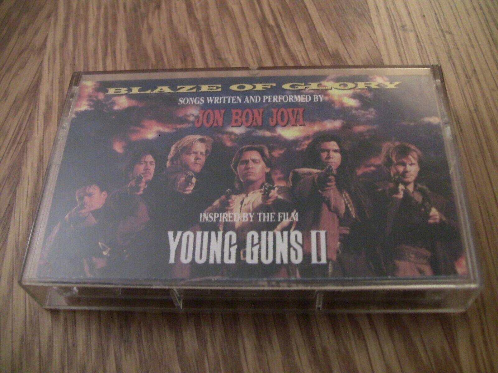 Jon Bon Jovi Blaze of Glory Young Guns 2 Cassette Tape