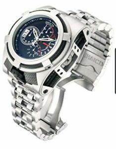 Invicta-Reserve-Mens-Bolt-Zeus-Tria-52MM-Blk-Dial-Swiss-Chrono-SS-Bracelet-Watch