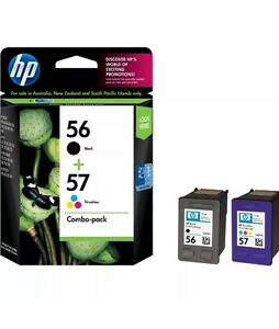 Genuine-HP56-HP57-CC629AA-Black-amp-Color-Combo-Pack-INK-Cartridges-Clearance