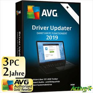 AVG Driver Updater 2019 3 PC 2 Jahre