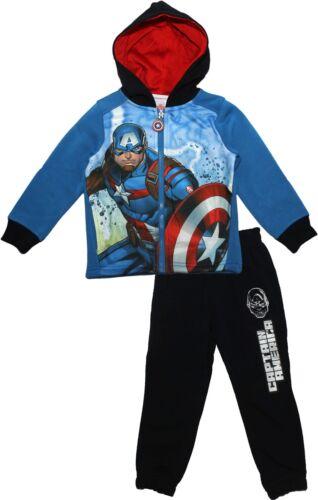 Marvel Avengers Garçons Enfants Captain America et Iron Man Survêtement Avec Capuche